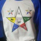 ORDER OF THE EASTERN STAR T-shirt O.E.S Baseball T shirt