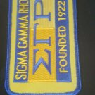 Sigma Gamma Rho  Sorority  Luggage Tag  LUGGAGE BAG TAG 1922 LUGGAGE TAG 1922