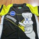 Pillsbury Doughboy Baseball Jersey Pillsbury Doughboy Cycling Biker jersey LARGE