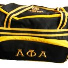 Alpha Phi Alpha Fraternity Luggage bag with Wheels Handle extension Duffle Bag
