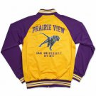 PRAIRIE VIEW A&M TRACK JACKET  SWAC HBCU TRACK JACKET PV PANTHERS