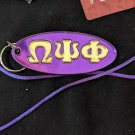 Omega Psi Phi Fraternity Mirror Key Chain Divine 9 Key chain Crossing Gifts