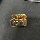 Omega Psi Phi Fraternity Lapel Pin Divine 9 Metal Lapel Pin Q-DOG #2