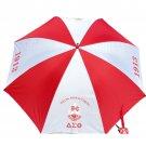 "Delta Sigma Theta Sorority  Umbrella Compact Rain Portable 42"" Umbrella"