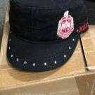 Delta Sigma Theta Sorority Hat Delta Diva Black Cadet Hat 1913 Fortitude
