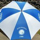 "Zeta Phi Beta Sorority  Umbrella Compact Rain Portable 42"" Umbrella"