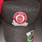 Delta Sigma Theta Sorority Cadet Hat Black Denim Delta Sigma Theta Conductor Cap