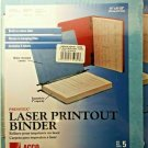 Acco PRESSTEX LASER PRINTOUT BINDER Hanging Report Covers  P/N 03900