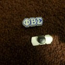 PHI BETA SIGMA FRATERNITY Shoe Charms For PVC SHOE CLOG Accessories 1914