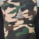 Freemason Camouflage Cap Masonic Mason Hat Masonic Past Master Conductor Hat