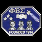 Phi Beta Sigma Fraternity Founders  Lapel Pin Fraternity Crest 1914