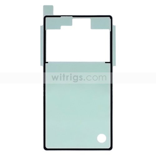 Battery Cover Sticker Adhesive for Sony Xperia Z OEM