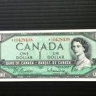 Canada Banknote - BC-37bA - $1.00 - 1954 Replacement Note *A/A