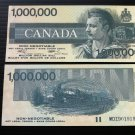 Canada Fantasy Banknote - One Million Dollars - Canadian Million $ note - a great fantasy piece