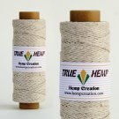 TRUE HEMP spool - NATURAL - 1mm diameter 20lb - 205feet/62m - 50gram