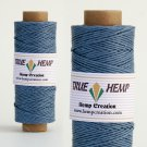 TRUE HEMP spool - SMOKEY BLUE - 1mm diameter 20lb - 205feet/62m - 50gram