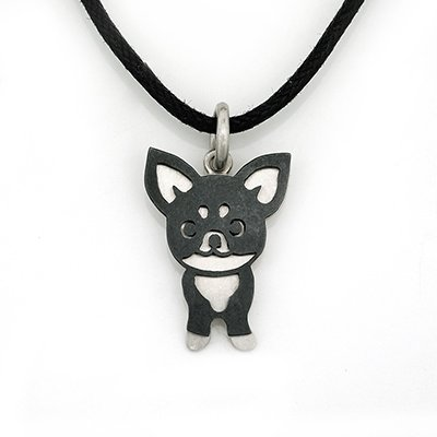 Chihuahua 925 Silver Pendant Necklace Pet Dog Doggie Puppy Birthday Gift Fashion Jewelry Q21958P