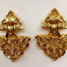 Vintage  Yves Saint Laurent YSL Haute Couture Runway Earrings