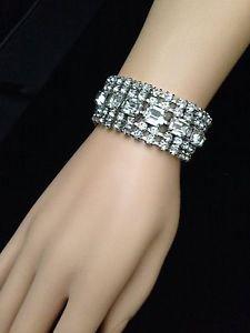 Dazzling Vintage Rhinestone Bracelet