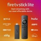 Fire TV Stick Lite with Alexa Voice Remote Lite (no TV controls)   HD streaming device