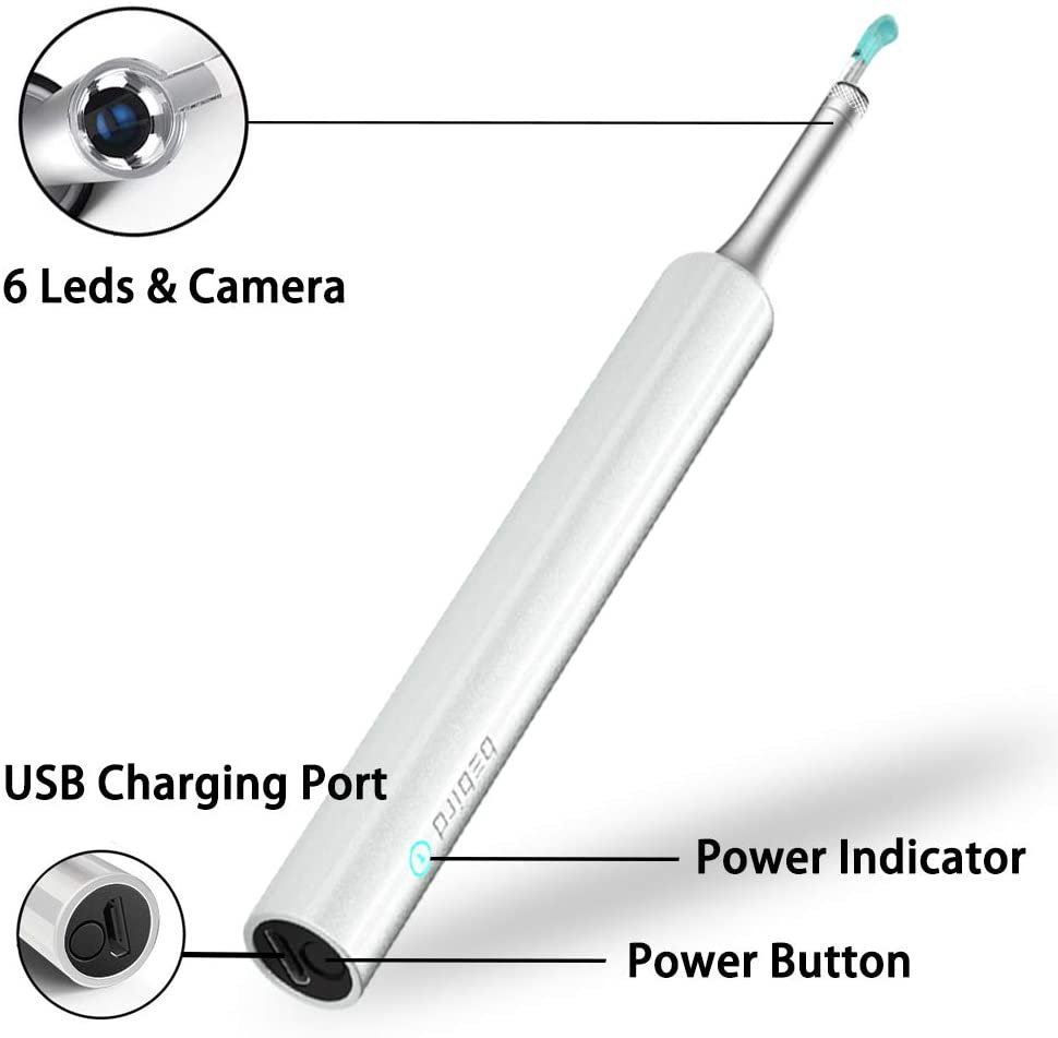 Ear Wax Removal Endoscope Otoscope, Earwax Remover Tools
