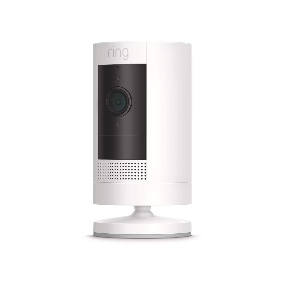 Ring Stick Up Cam Battery HD security camera with custom privacy controls