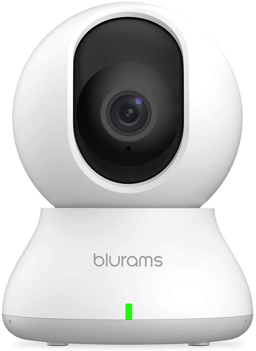 Security Camera 2K, blurams Baby Monitor Dog Camera 360-degree for Home Security