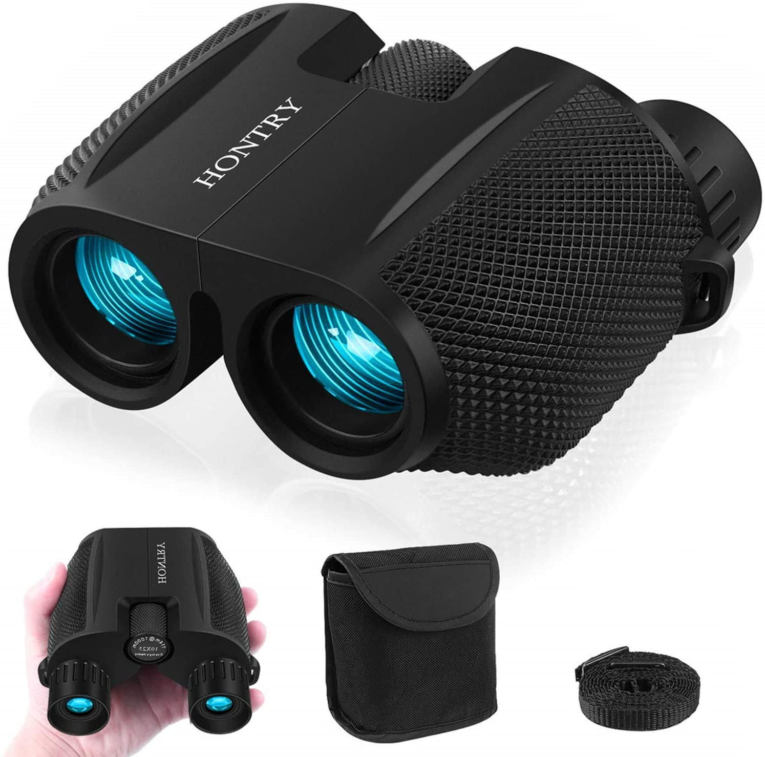 Binoculars for Adults and Kids, 10x25 Compact