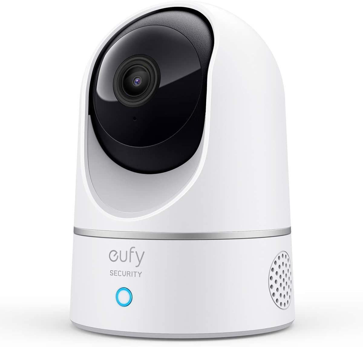 eufy Security Solo IndoorCam P24, 2K Pan & Tilt Security Indoor Camera