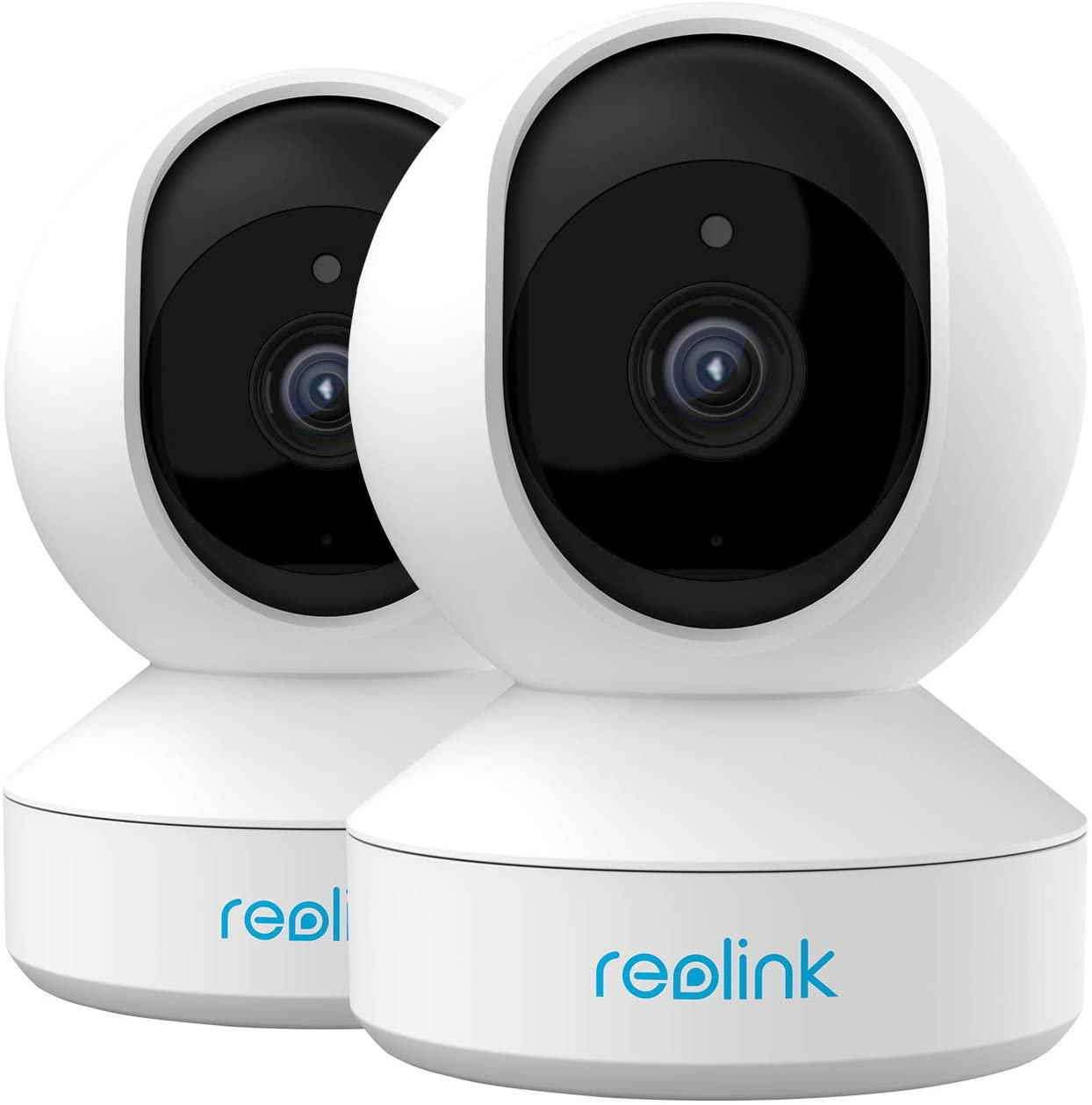 Home Security Camera System, Reolink 3MP HD Plug-in Indoor WiFi Camera - 2packs