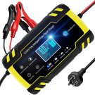 AU TOPERSUN Car Battery Charger 8A 12V / 24V Smart Automotive Battery Charger Maintainer