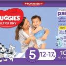 AU Huggies Ultra Dry Nappy Pants Boy Size 5 (12-17kg)