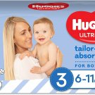 AU Huggies Ultra Dry Nappies Boy Size 3 (6-11kg) 44 Count
