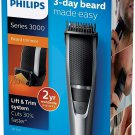 AU Philips Beardtrimmer Series 3000 Beard and Stubble Trimmer with Lift & Trim Comb