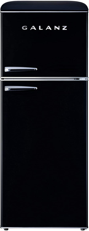 Galanz GLR10TBKEFR True Top Freezer Retro Refrigerator Frost