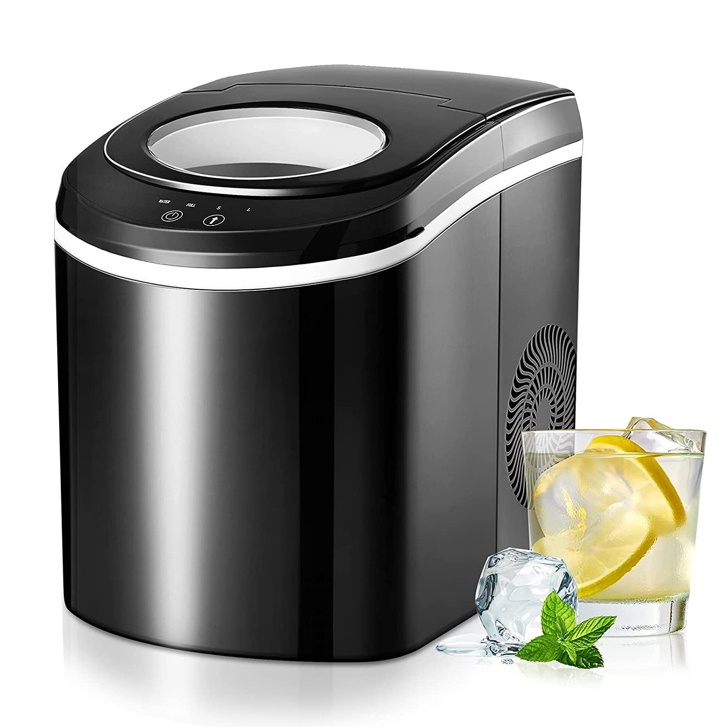 TRUSTECH Ice Maker Machine for Countertop, Self-Cleaning Function