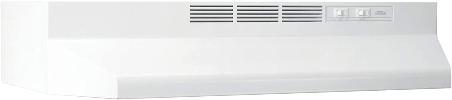 Broan-NuTone 413001 Non-Ducted Ductless Range Hood with Lights Exhaust Fan
