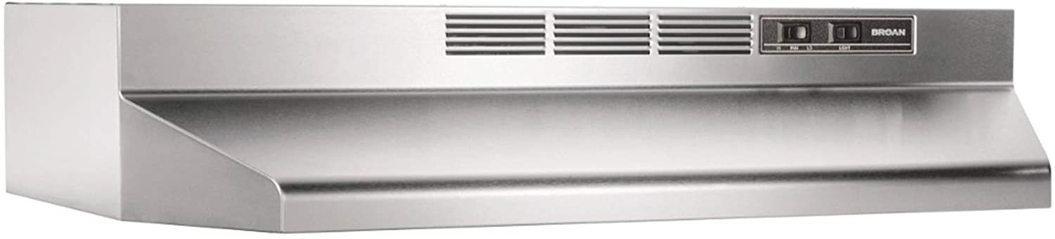 Broan-NuTone 413004 Non-Ducted Ductless Range Hood with Lights Exhaust Fan