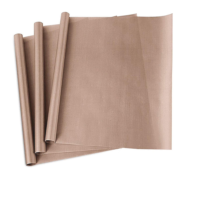 "3 Pack PTFE Teflon Sheet for Heat Press Transfer Sheet Non Stick 16 x 20"""