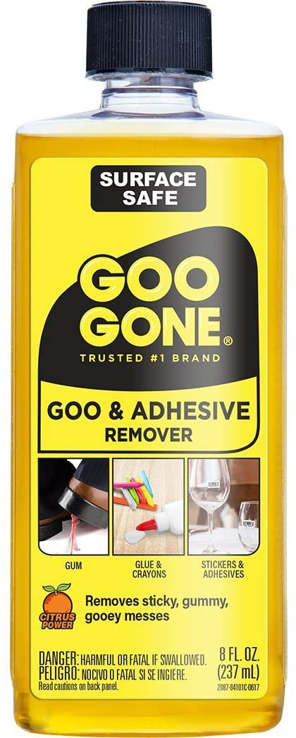 Goo Gone Adhesive Remover - 8 Ounce - Surface Safe Adhesive Remover