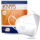 Hotodeal KN95 Face Mask 20 PCS,5 Layers Cup Dust Mask Against PM2.5
