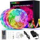 Tenmiro 65.6ft Led Strip Lights, Ultra Long RGB 5050 Color Changing LED Light Strips Kit