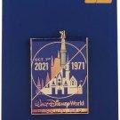 Disney Pin - Walt Disney World - 50th Anniversary - 1971/2021 - Passholder