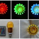 16 COLORS LED BULB E27 RGB + REMOTE CONTROL