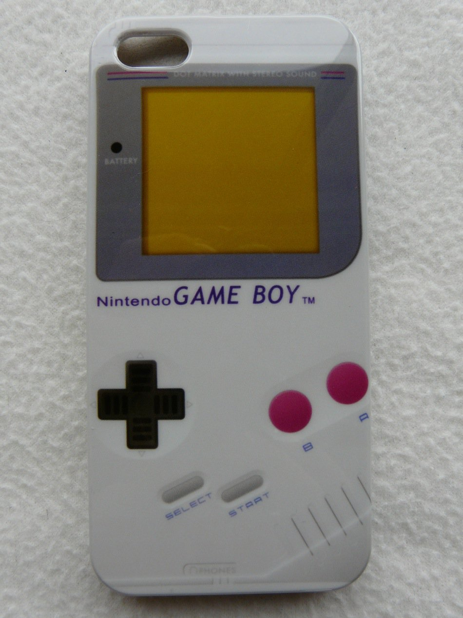IPHONE5 HARD COVER CASE GLOSSY GAMEBOY