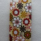IPHONE5 HARD COVER CASE MATTE FLOWERS
