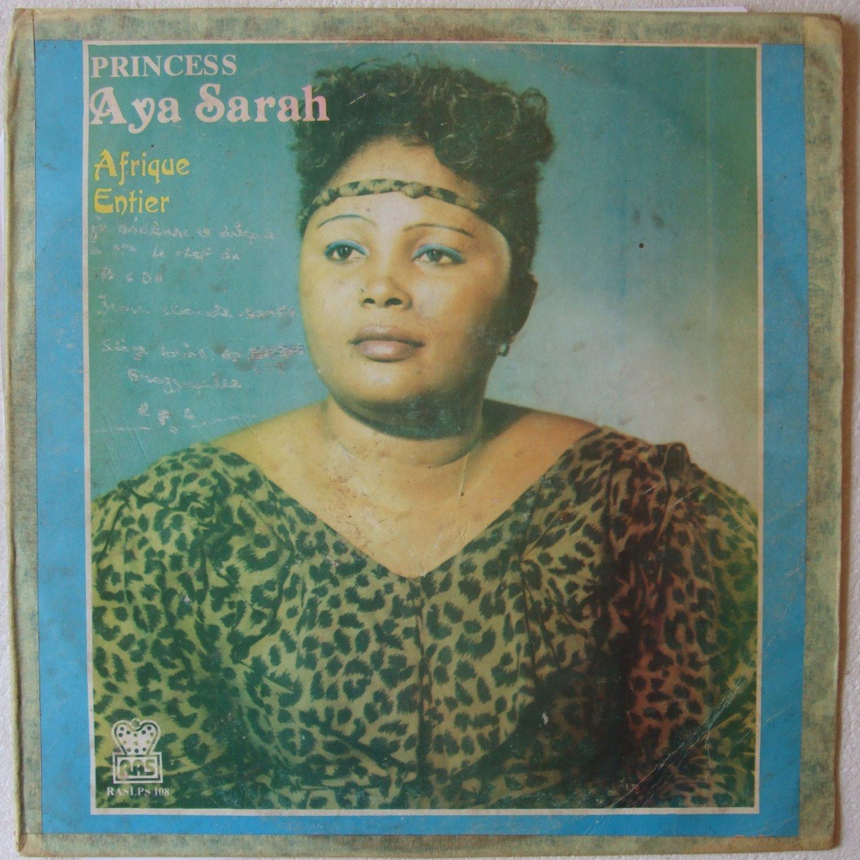 PRINCESS AYA SARAH afrique entier SOUKOUS LP � mp3 listen