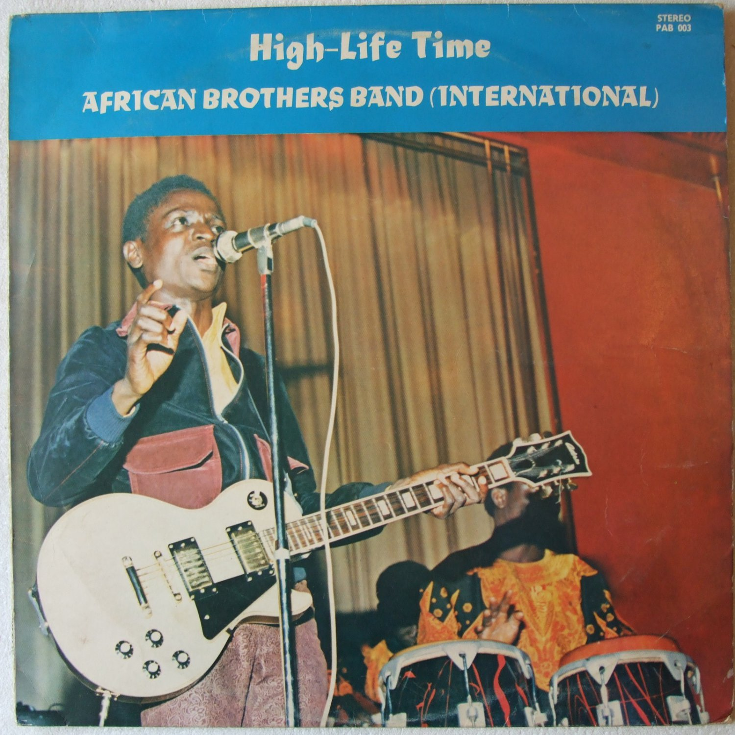 AFRICAN BROTHERS BAND high life time LP DANCEFLOOR HIGHLIFE PSYCH LATIN mp3 listen