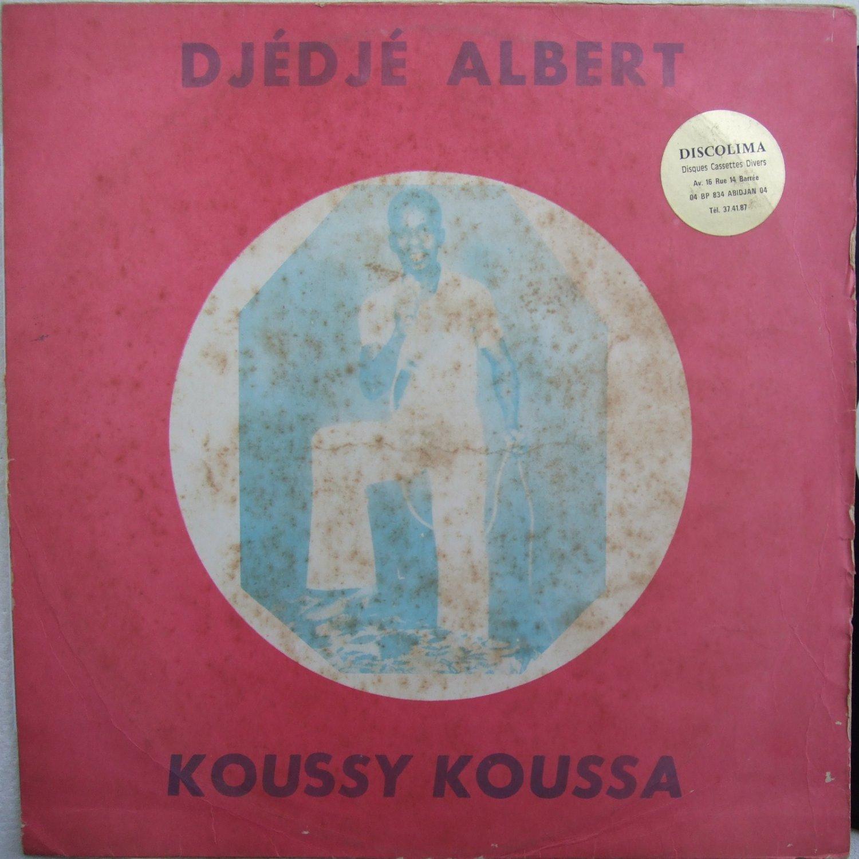DJEDJE ALBERT koussy koussa RARE AFRO FOLK IVORY COAST LP mp3 soundclip