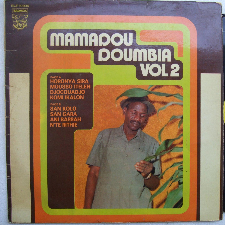MAMADOU DOUMBIA vol2 SUPERB AFRO LATIN IVORY COAST LP